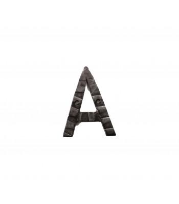"Кованая буква ""А"" 15 см"