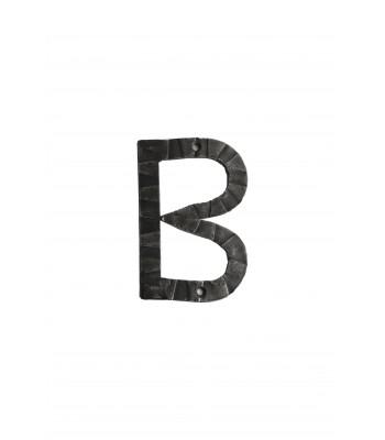 "Кованая буква ""В"" 15 см"