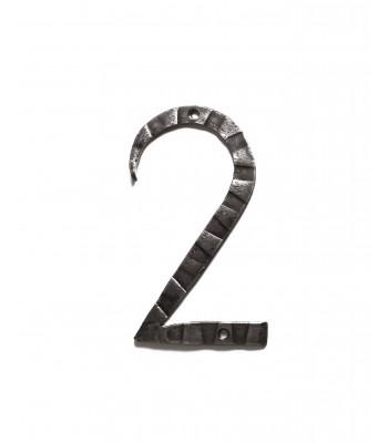 "Кованая цифра ""2"" 20 см"