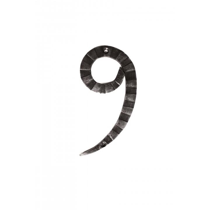 "Кованая цифра ""9"" 15 см"