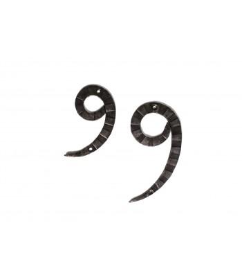 "Кованая цифра ""9"""