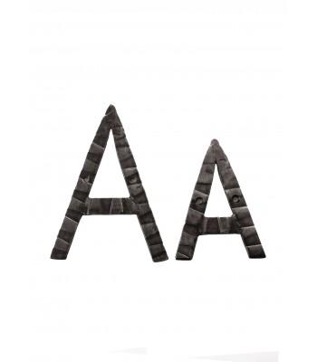 "Кованая буква ""А"" 20 см"