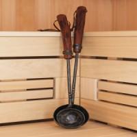 Кованые изделия для бани и сауны