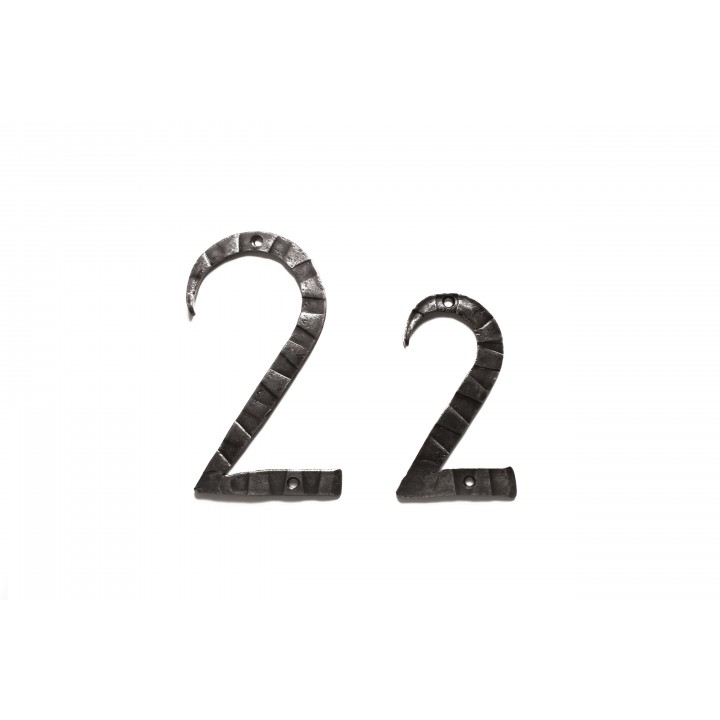 "Кованая цифра ""2"" 15 см"