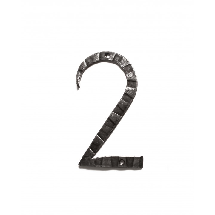 "Кованая цифра ""2"""