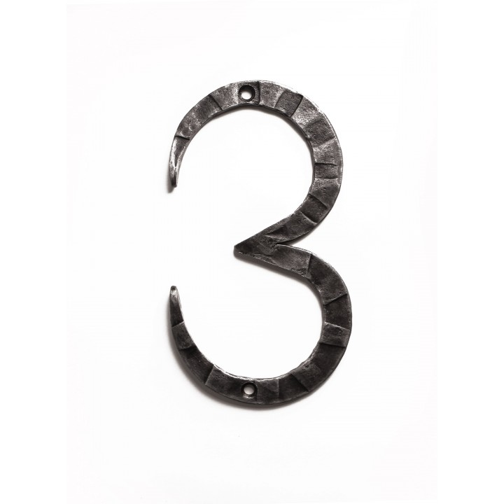 "Кованая цифра ""3"" 20 см"