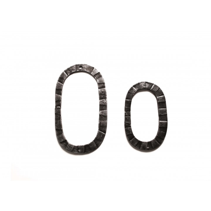 "Кованая цифра ""0"" 15 см"